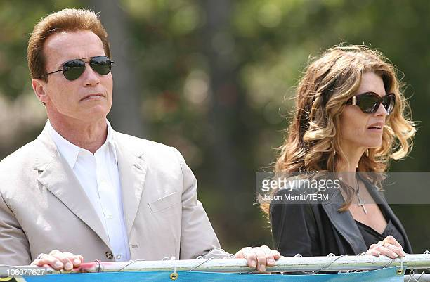 Governor Arnold Schwarzenegger and First Lady Maria Shriver