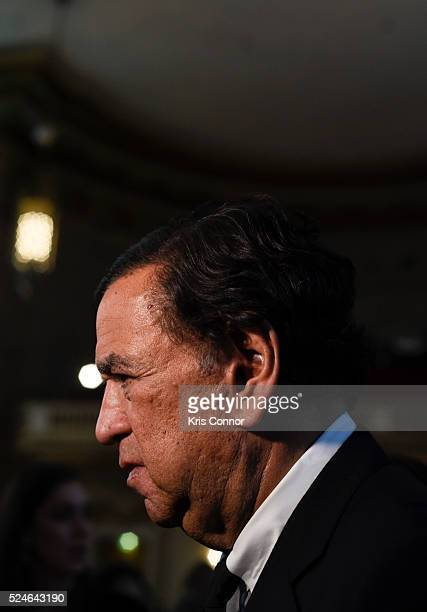 Governor Bill Richardson poses for a photo at the 'Refugees International's 37th Anniversary' Dinner at Andrew W Mellon Auditorium on April 26 2016...