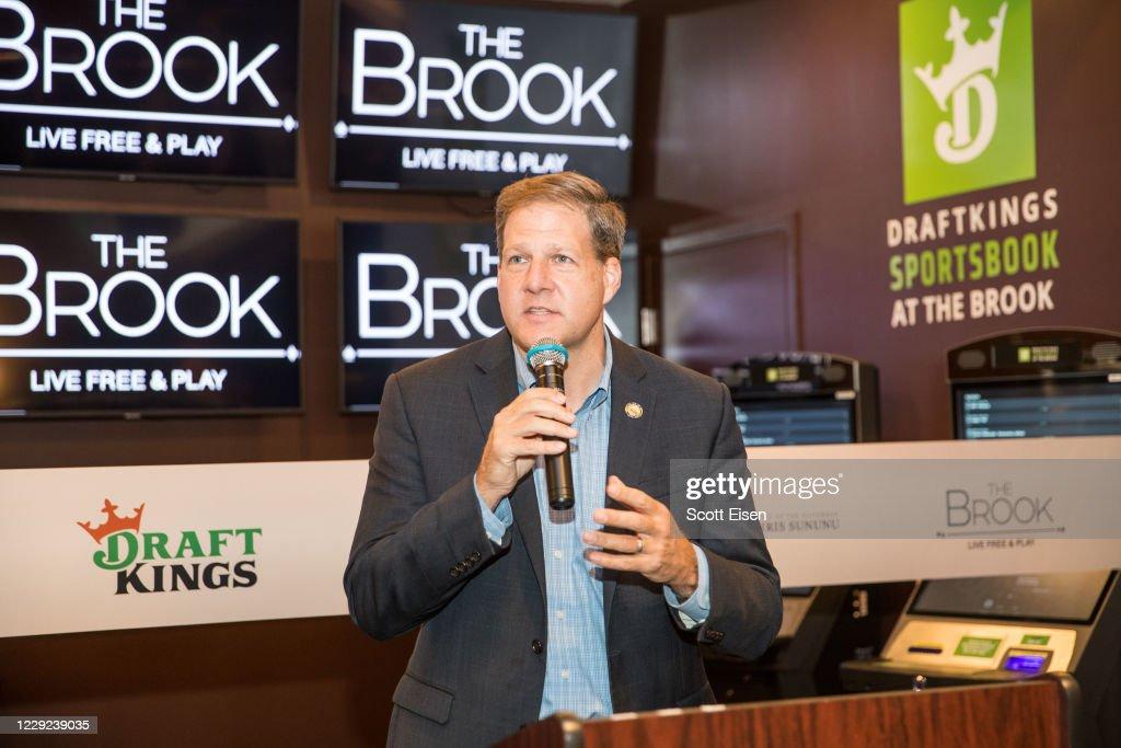 DraftKings Sportsbook at The Brook Ribbon Cutting : News Photo