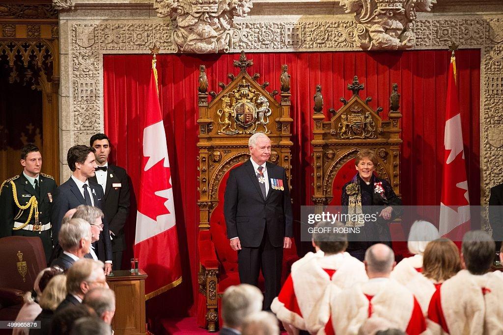 CANADA-GOVERNMENT-PARLIAMENT : Foto di attualità