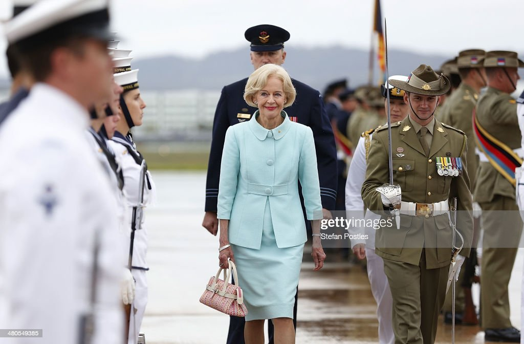 Canberra Farewells Australian Governor-General Quentin Bryce