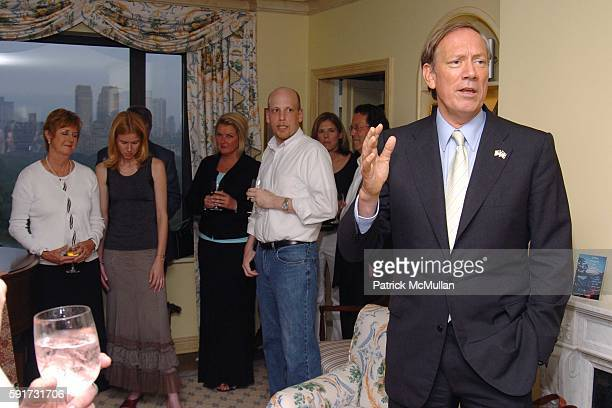 Governor George Pataki== ASHLEY SCHIFF hosts a book party for WENDY BOUNDS' new book Little Chapel on the River Ashley Schiff's Home NYC== June 29...