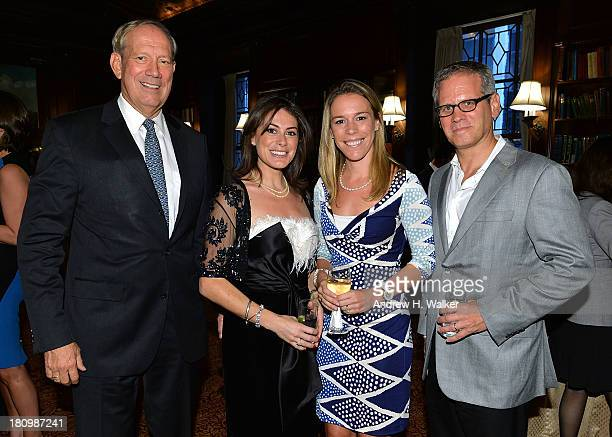 Governor George Pataki author Katie Nicholl Allison Pataki Levy and David Steinberger President of Perseus Book Group attend the Kate The Future...