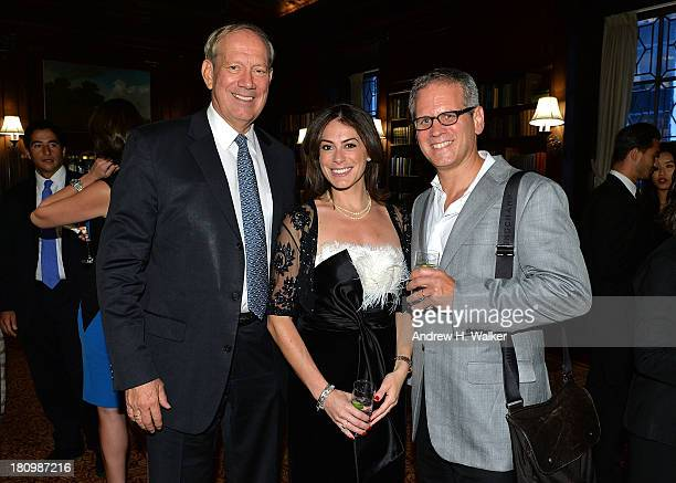 Governor George Pataki author Katie Nicholl and David Steinberger President of Perseus Book Group attend the Kate The Future Queen launch party on...
