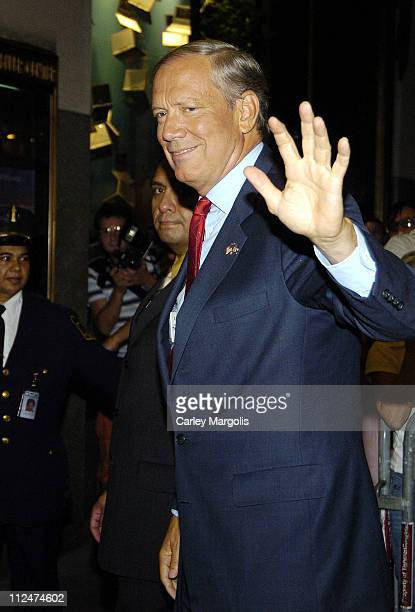 Governor George Pataki during NBC Benefit Special to Aid Victims of Hurricane Katrina Arrivals September 2 2005 at NBC Studios in New York City New...
