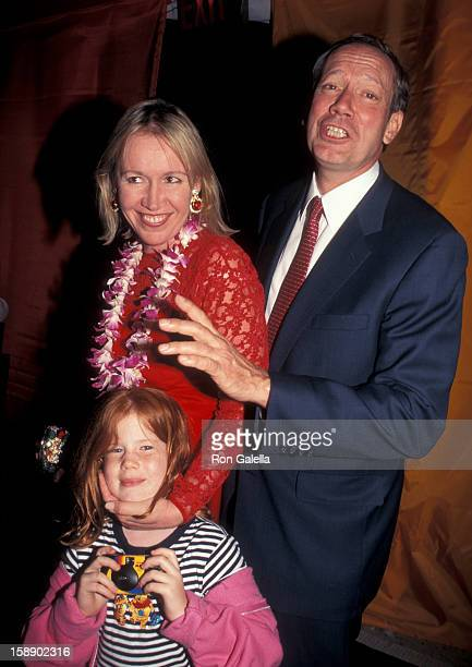 Governor George Pataki wife Libby Pataki and daughter Emily Pataki attend the party to Save the Nature Conservancy Benefit on June 3 1998 at Central...