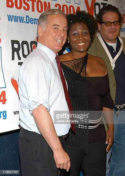 Governor Howard Dean and Jehmu Greene president of Rock the Vote