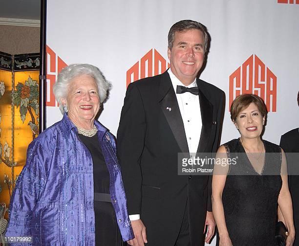 Governor Jeb Bush mom Barbara Bush wife Columba