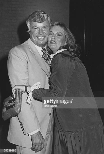 Governor John Brown and Phyllis George attend Jimmy Carter Primary Victory Party on August 14 1980 at Xenon Disco in New York City