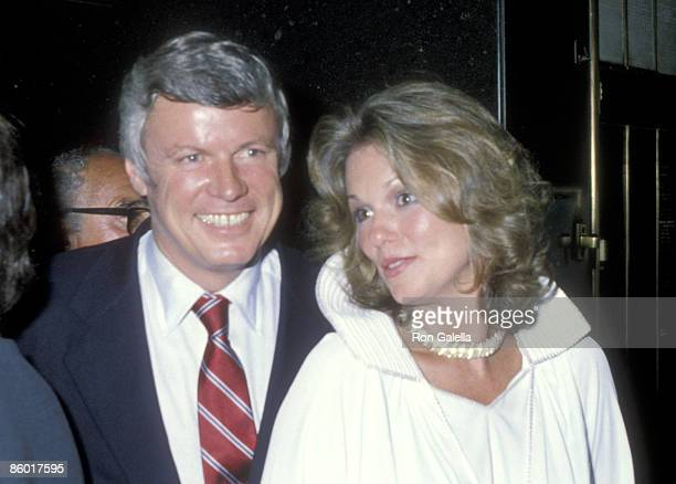 Governor John Y Brown Jr and TV personality Phyllis George attend the Eighth Annual Robert F Kennedy ProCelebrity Tennis Tournament PreParty...