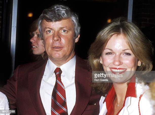 Governor John Y Brown Jr and TV personality Phyllis George attend the 1979 International Special Olympics Summer Games on August 9 1979 at The State...