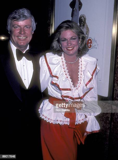 Governor John Y Brown Jr and TV personality Phyllis George attend the Annie New York City Premiere on May 17 1982 at Radio City Music Hall in New...