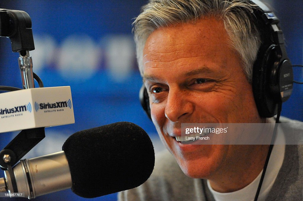 Jon Huntsman Hosts Inaugural Installment Of SiriusXM's 'No Labels Radio With Jon Huntsman'