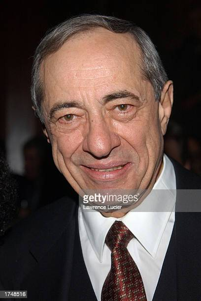 Governor Mario Cuomo attends the National Mentoring Month reception at the Harvard Club January 27 2003 in New York City