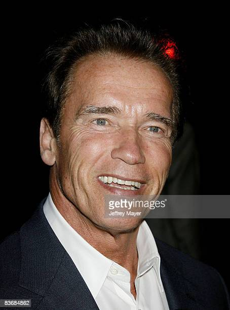Governor of California Arnold Schwarzenegger attends a 'Green' Gala hosted by Governor Arnold Schwarzenegger at Universal Studios on August 14 2008...