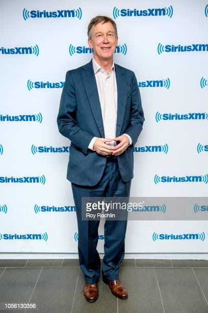 Governor of Colorado John Hickenlooper visits SiriusXM Studios on November 1 2018 in New York City