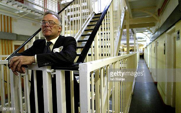 MAY 20 2003 Governor of HMP Pentonville Gareth Davies walks through his prison May 19 2003 in London The Chief inspector of prisons Anne Owers will...