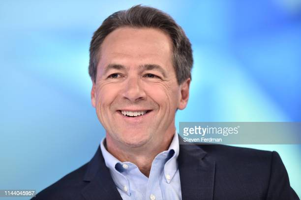 """Governor of Montana and democratic presidential candidate Steve Bullock visits """"The Daily Briefing"""" with Dana Perino at Fox News Channel Studios on..."""