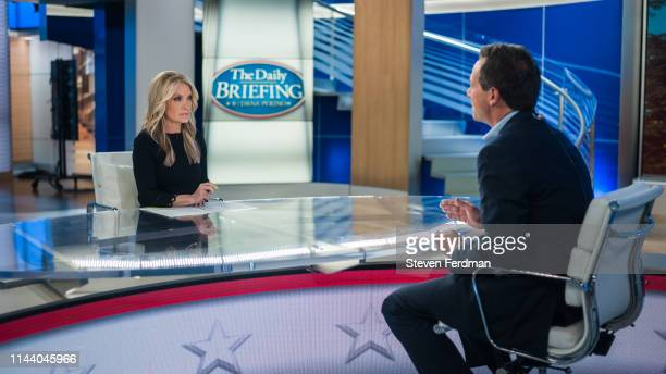 Governor of Montana and democratic presidential candidate Steve Bullock visits The Daily Briefing with Dana Perino at Fox News Channel Studios on May...