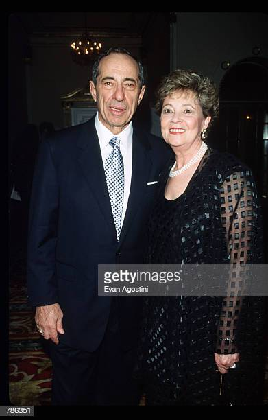 Governor of New York from 1983 to 1994 Mario Cuomo and his wife Matilda attend an AmFAR Tribute June 21 1998 in New York City The American Foundation...