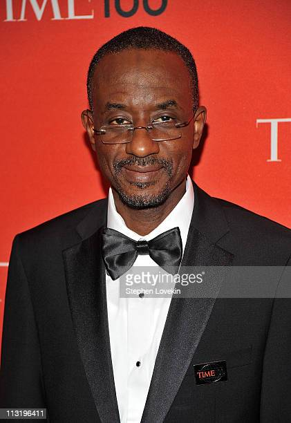 Governor of the Central Bank of Nigeria Lamido Sanusi attends the TIME 100 Gala TIME'S 100 Most Influential People In The World at Frederick P Rose...