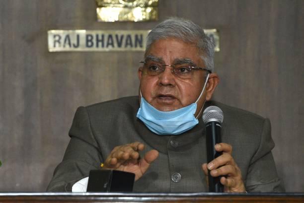 IND: Press Conference OF West Bengal Governor Jagdeep Dhankhar At Raj Bhavan