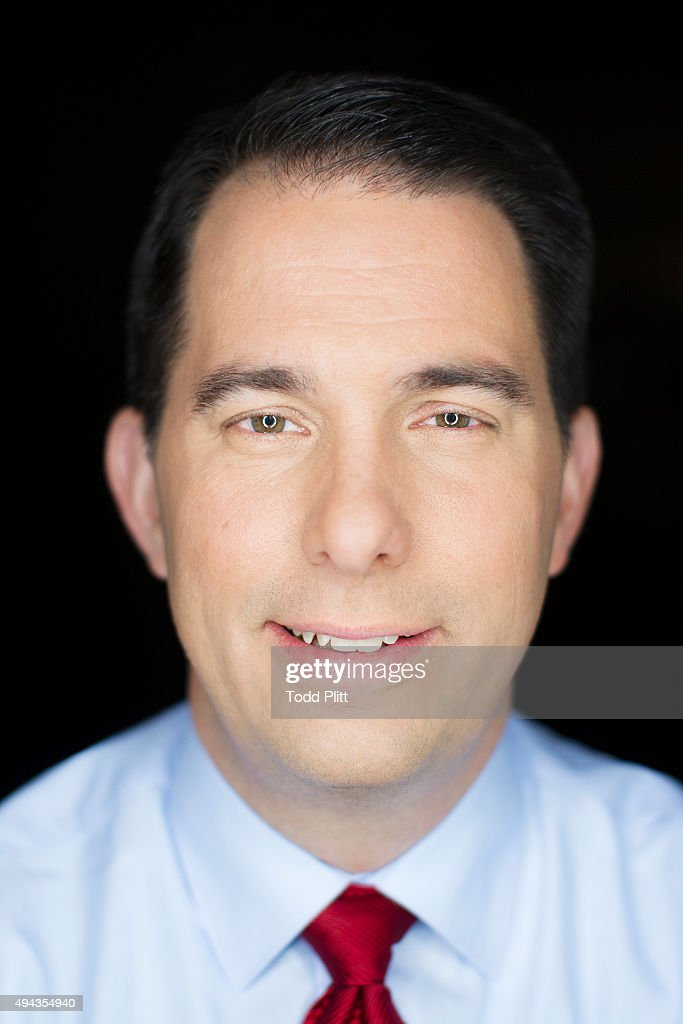 Governor Scott Walker is photographed for USA Today on November 16, 2013 in New York City.