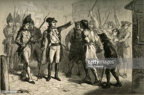 Governor Tryon and the Regulators' British Royal Governor William Tryon confronts North Carolina Regulators in 1771 Citizens took up arms against...