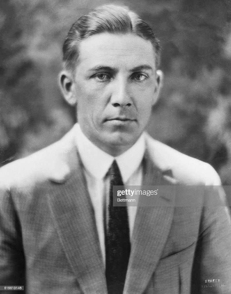 Portrait of Former Farmer and Labor Governor Floyd B. Olson : News Photo