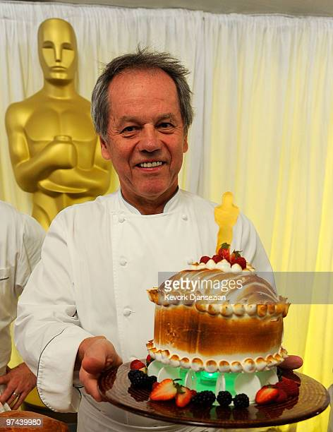 Governors Ball Master Chef Wolfgang Puck attends the 82nd Academy Awards food and beverage preview at the Kodak Theatre on March 4 2010 in Hollywood...