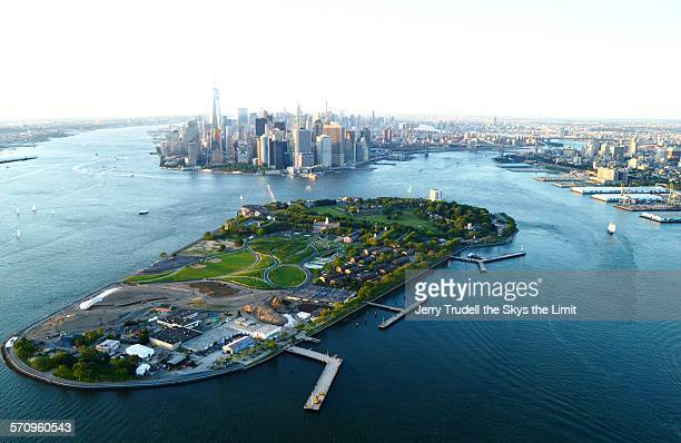 governor's island nyc - governors island stock pictures, royalty-free photos & images