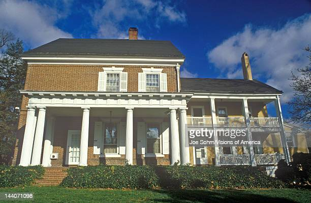 Governor's Mansion in the Historic District of the state's capital Dover Delaware