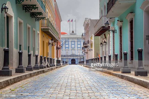 governor's, mansion, san juan puerto rico - puerto rico stock pictures, royalty-free photos & images