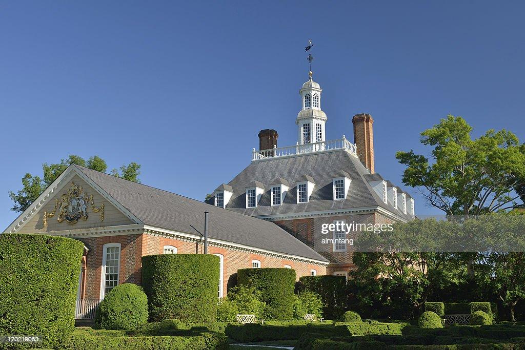 Governor's Palace : Stock Photo