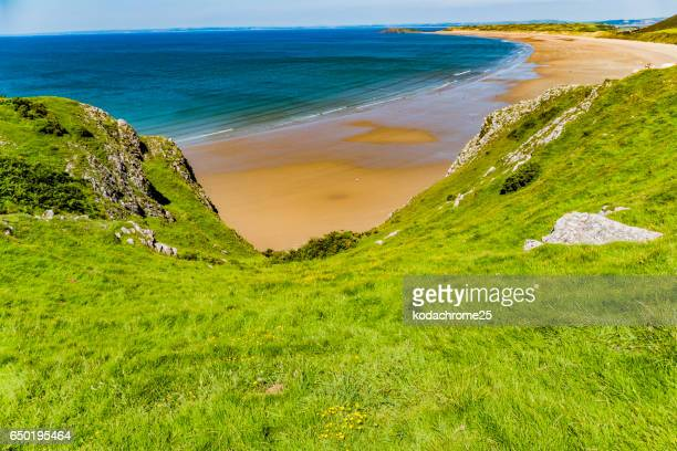 gower - swansea stock photos and pictures