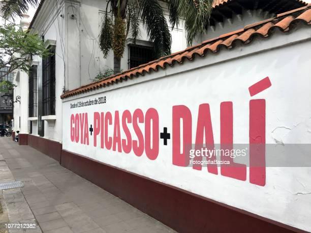 Goya + Picasso + Dali