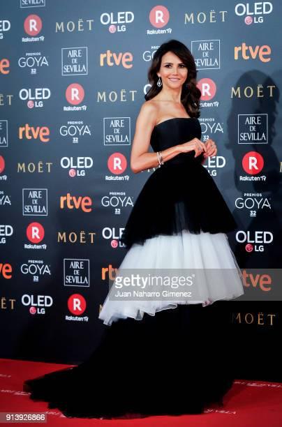 Goya Toledo attends Goya Cinema Awards 2018 at Madrid Marriott Auditorium on February 3 2018 in Madrid Spain
