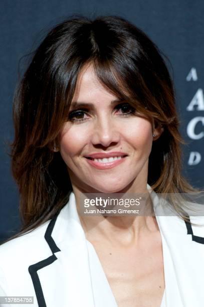 Goya Toledo attends the Goya Awards Nominated Gala 2012 at Real Casa de Correos on January 28 2012 in Madrid Spain