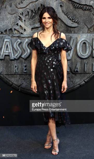 Goya Toledo attends the 'Jurassic World Fallen Kindom' premiere at Wizink Center on May 21 2018 in Madrid Spain