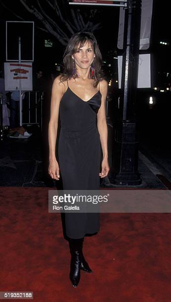 Goya Toledo attends the premiere of 'Amores Perros' on March 27 2001 at Galaxy Theater in Hollywood California