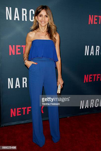 Goya Toledo attends the premiere of Netflix's 'Narcos' season 2 at ArcLight Cinemas on August 24 2016 in Hollywood California