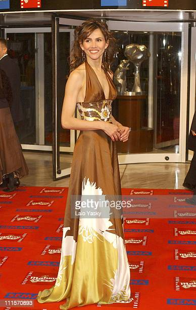 Goya Toledo during 2005 Spanish Academy of Cinematography Goya Awards at Madrid in Madrid Spain