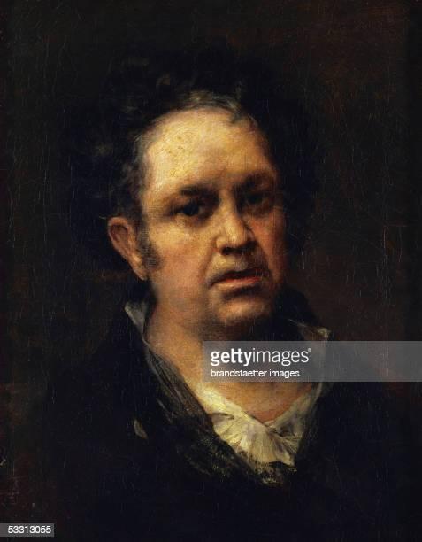 Goya y Lucientes selfportrait Canvas 1815 [Goya y Lucientes Selbstportrait Gemaelde 1815]