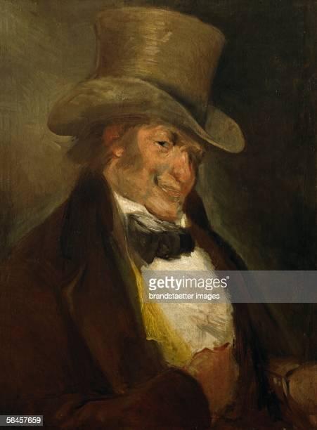 Goya y Lucientes selfportrait Oil on canvas [Goya y Lucientes Selbstportrait Gemaelde]