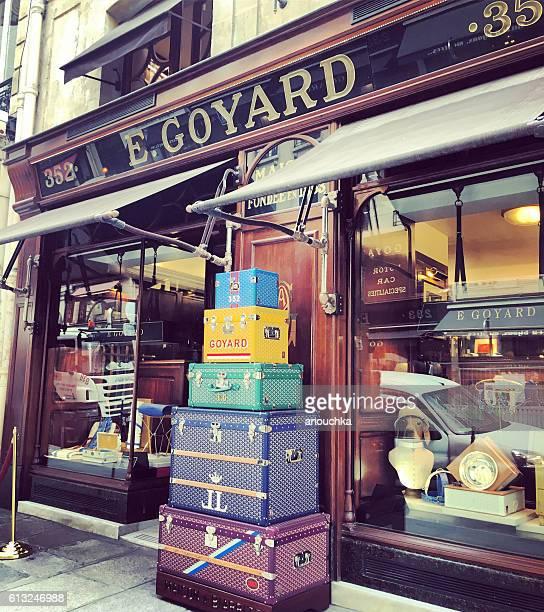 Goyard shop in Paris, France