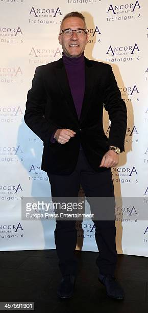 Goyo Gonzalez attend 'Lo Que Escondian Sus Ojos' book presentation on December 17 2013 in Madrid Spain