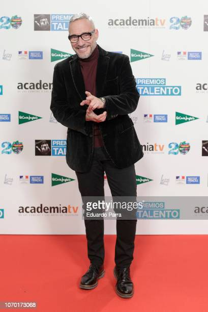 Goyo Gonzalez attend the 'Talento Awards' photocall at French Institute on November 20 2018 in Madrid Spain