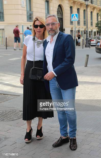 Goyo Gonzalez attends Arturo Fernandez's funeral mass on July 17 2019 in Madrid Spain