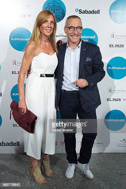 Goyo Gonzalez attends Diana Krall concert photocall at Royal Theater on July 27 2016 in Madrid Spain