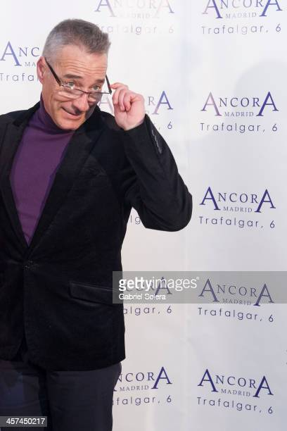 Goyo Gonzalez attends 'Lo Que Escondian Sus Ojos' book presentation at Ancora Restaurant on December 17 2013 in Madrid Spain